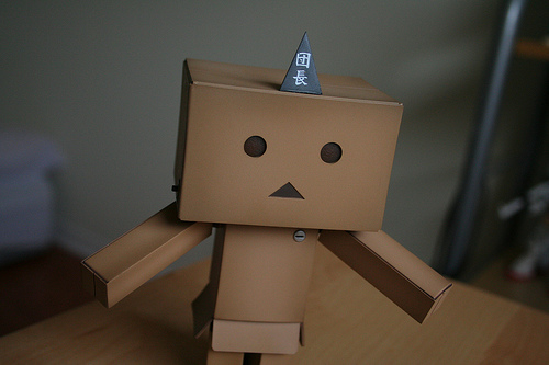 Unhappy robot